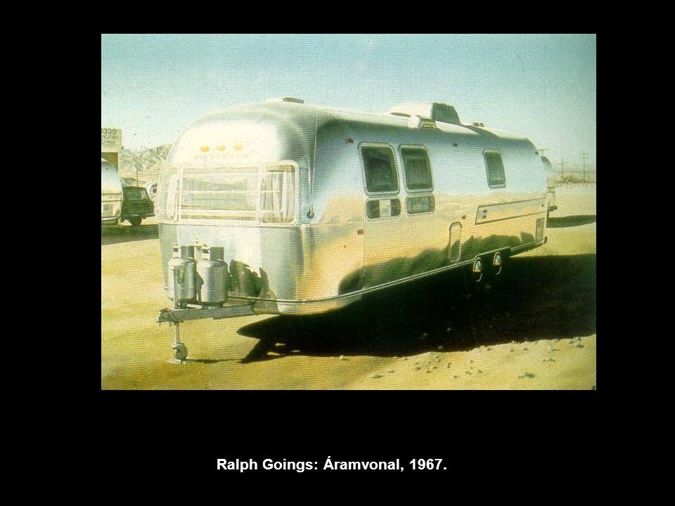 Ralph Goings: Áramvonal, 1967.