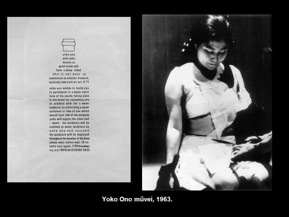 Yoko Ono művei, 1963.