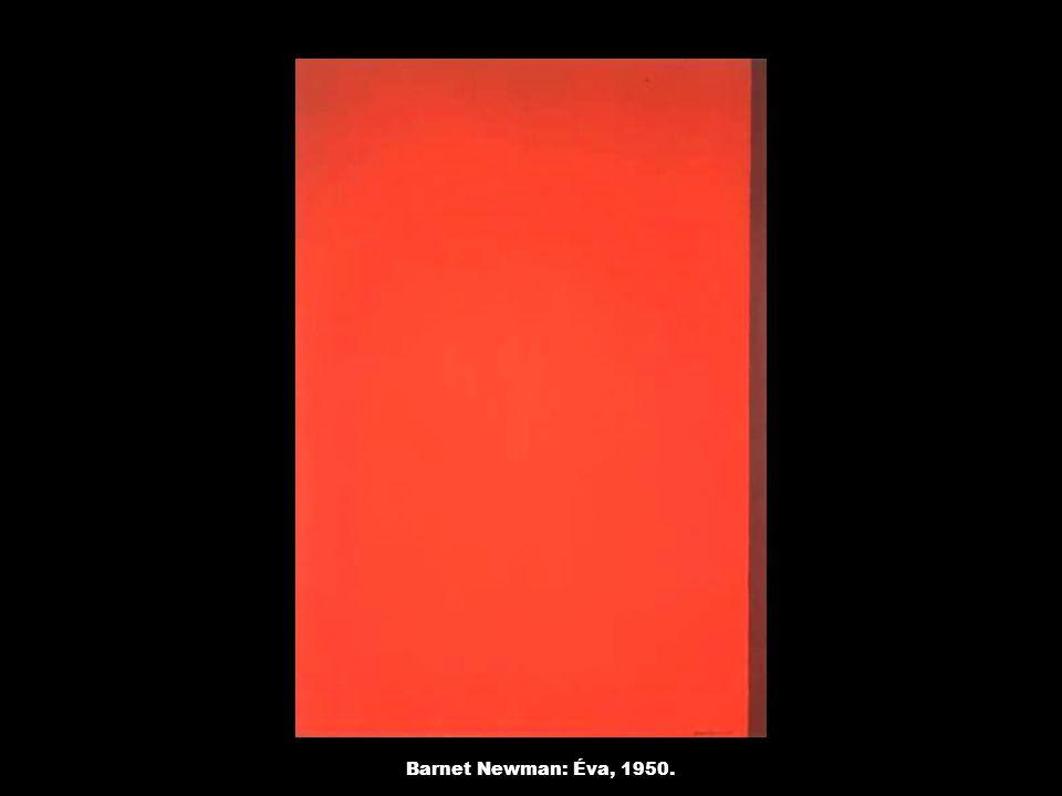 Barnet Newman: Éva, 1950.