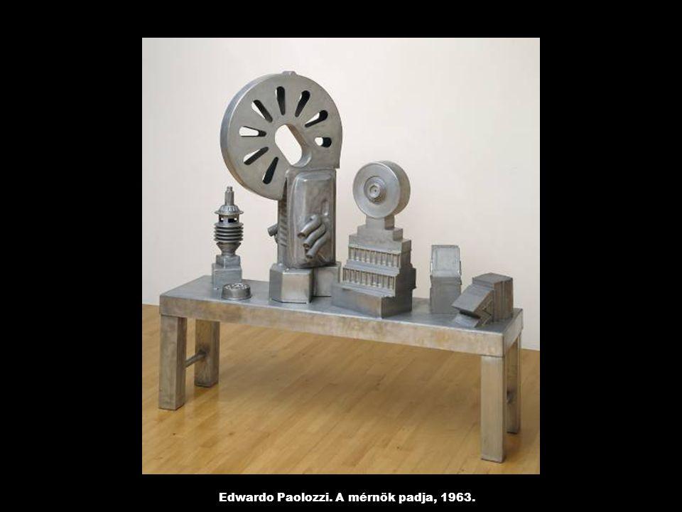 Edwardo Paolozzi. A mérnök padja, 1963.