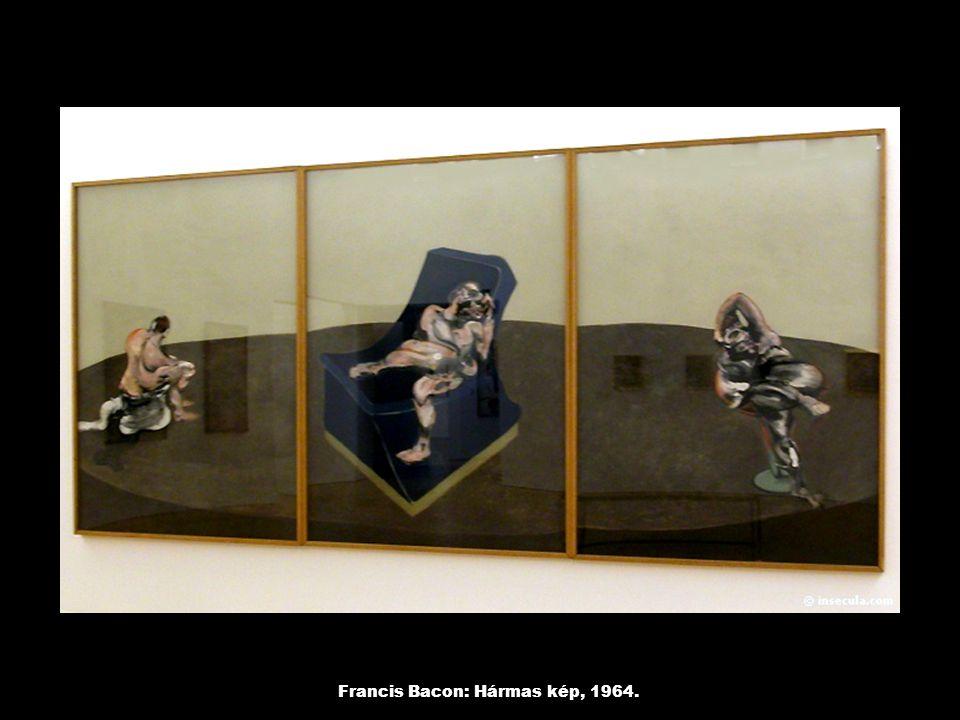 Francis Bacon: Hármas kép, 1964.