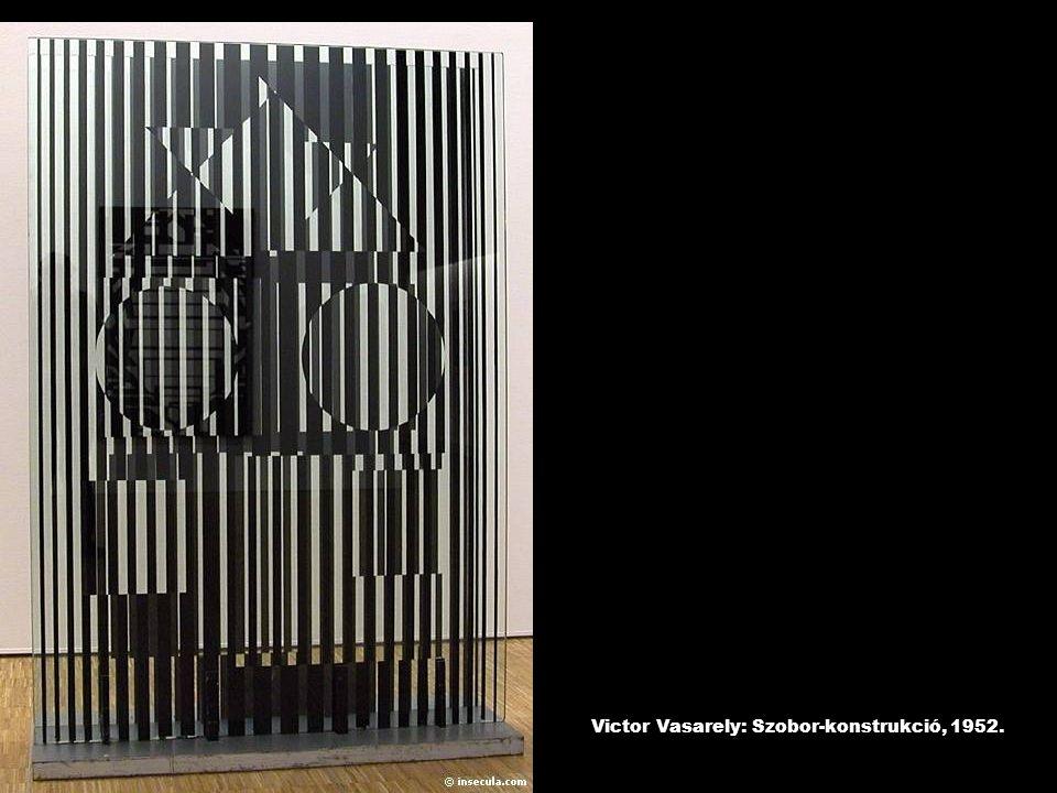 Victor Vasarely: Szobor-konstrukció, 1952.