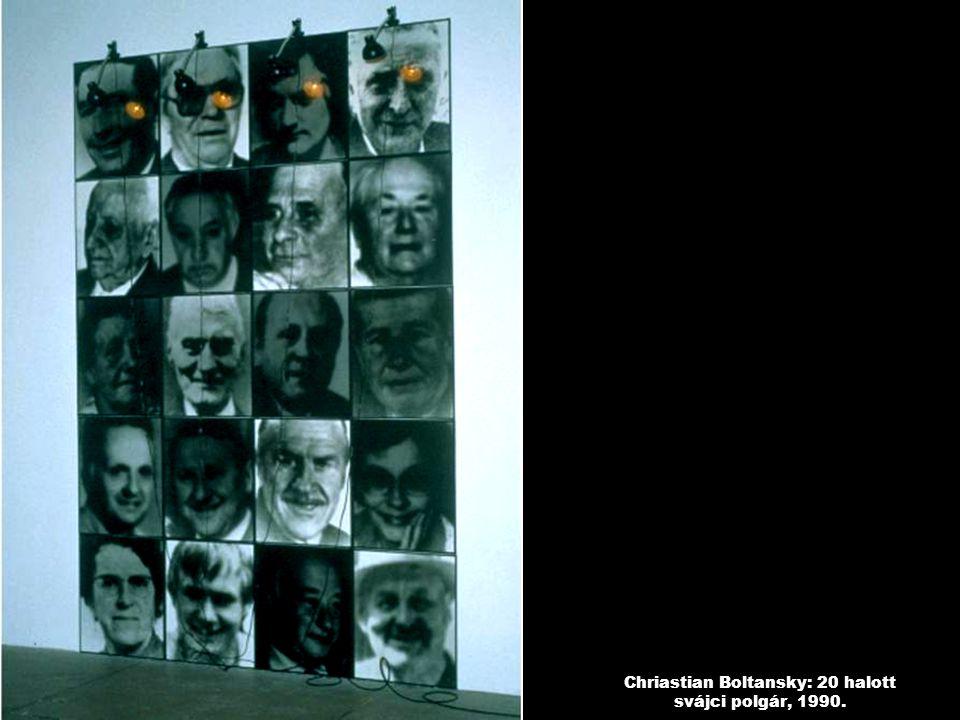 Chriastian Boltansky: 20 halott svájci polgár, 1990.