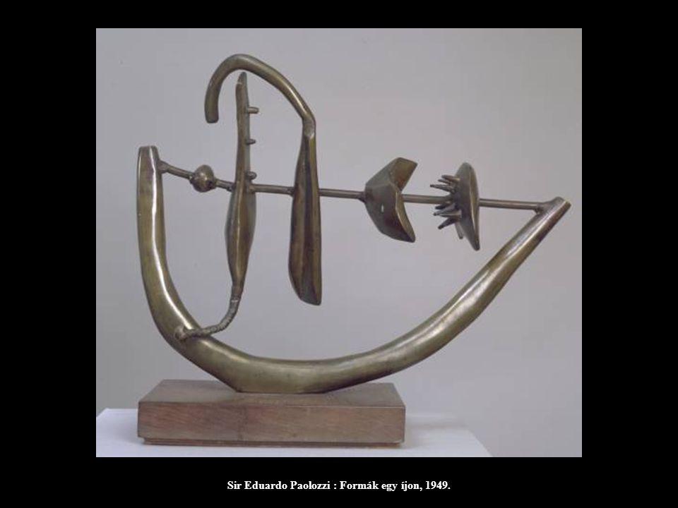 Sir Eduardo Paolozzi : Formák egy íjon, 1949.
