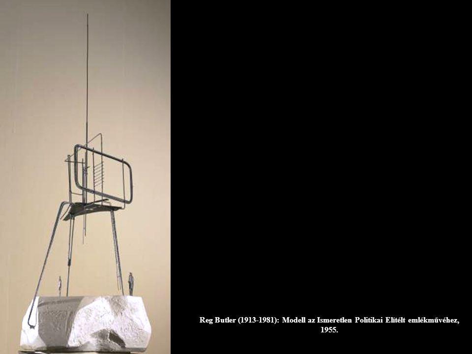 Reg Butler (1913-1981): Modell az Ismeretlen Politikai Elítélt emlékművéhez, 1955.