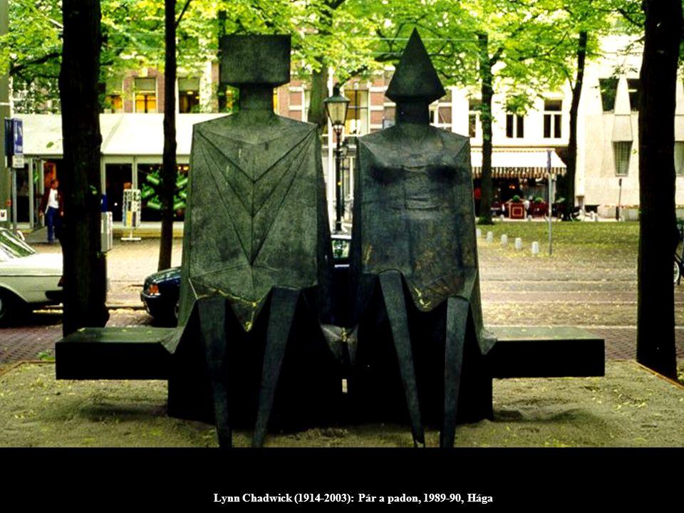 Lynn Chadwick (1914-2003): Pár a padon, 1989-90, Hága