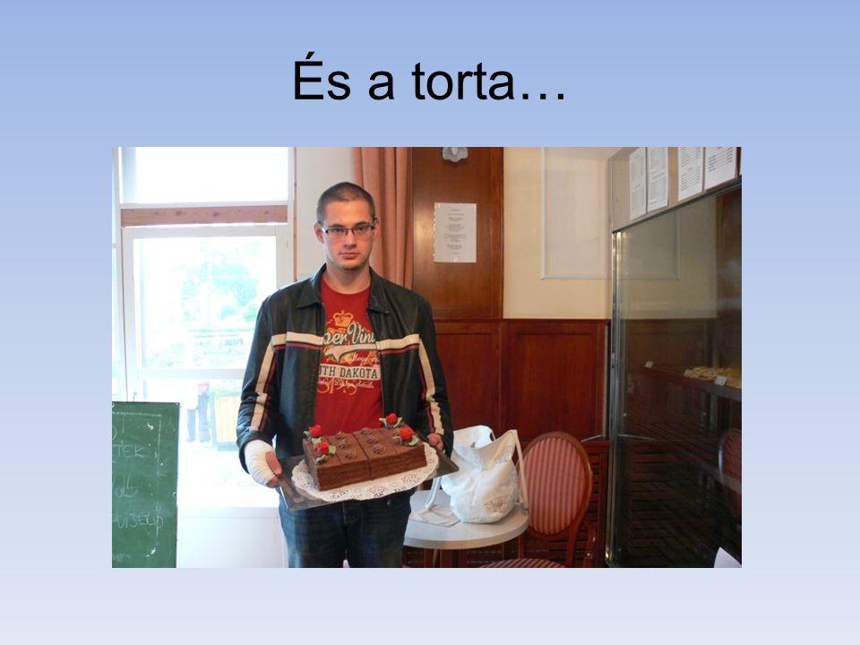 És a torta…