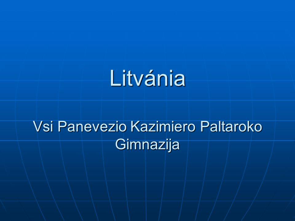 Litvánia Vsi Panevezio Kazimiero Paltaroko Gimnazija