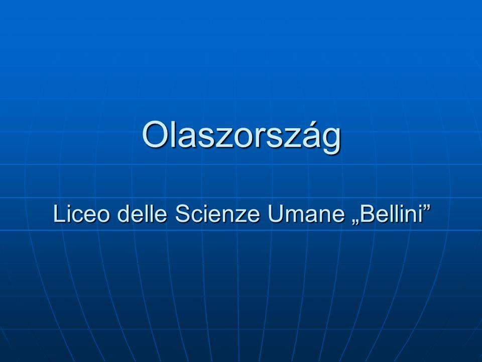 "Olaszország Liceo delle Scienze Umane ""Bellini"