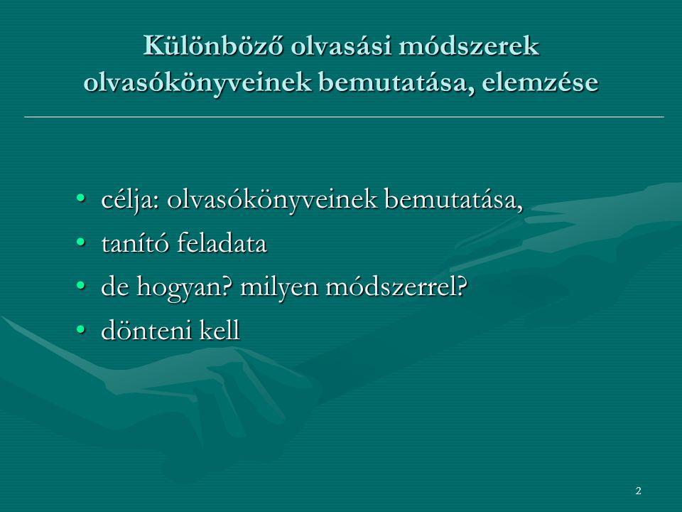23 pálcikás módszer, Mádai Istvánné – Kertész Sándorné nevéhez fűződik.