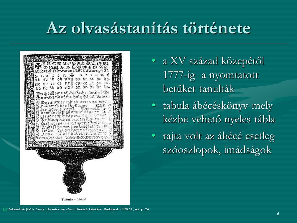 37 Bemutatott tankönyvek: ABC ház: ábécéskönyv / Hernádiné Hámorszky Zsuzsanna Szeged: Mozaik, 2002.