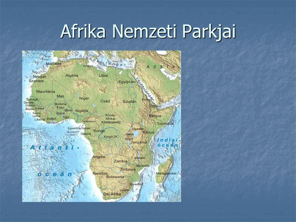 Afrika Nemzeti Parkjai Afrika