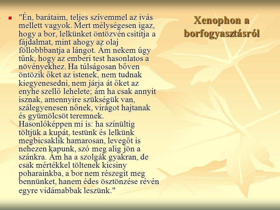 Xenophon a borfogyasztásról