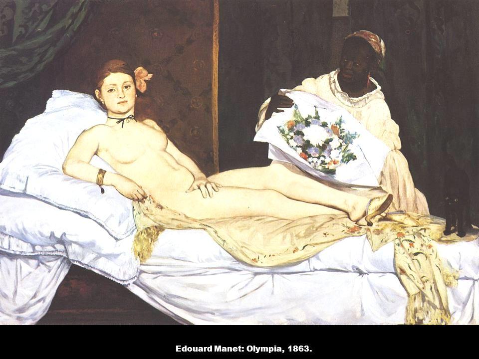Edouard Manet: Olympia, 1863.