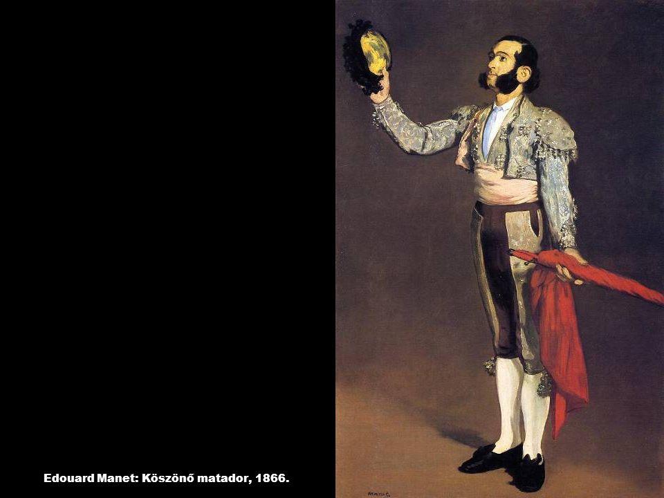 Edouard Manet: Köszönő matador, 1866.