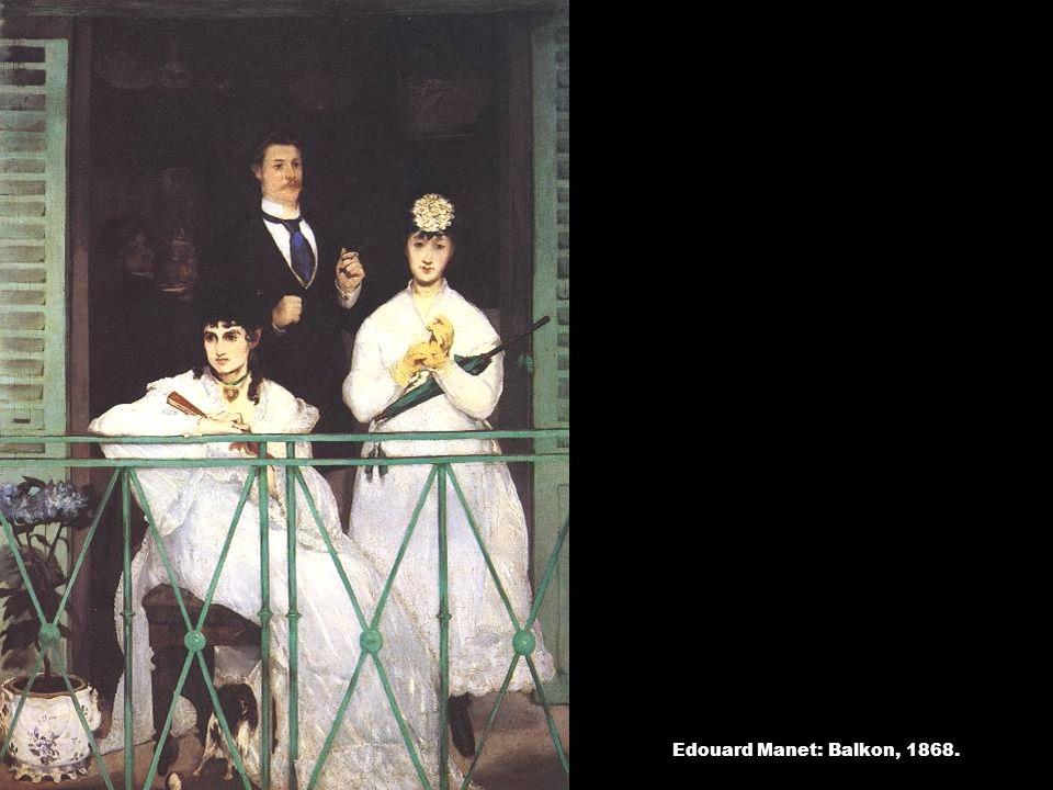 Edouard Manet: Balkon, 1868.