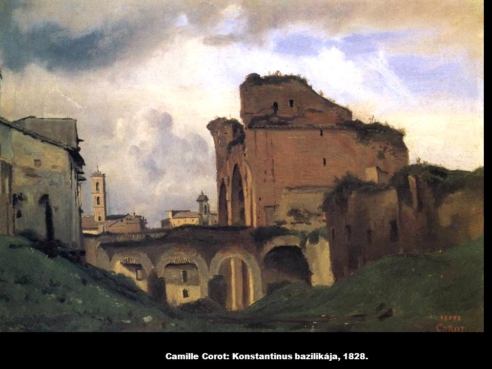 Camille Pissarro: Tengeröböl az Antillákon, 1856.