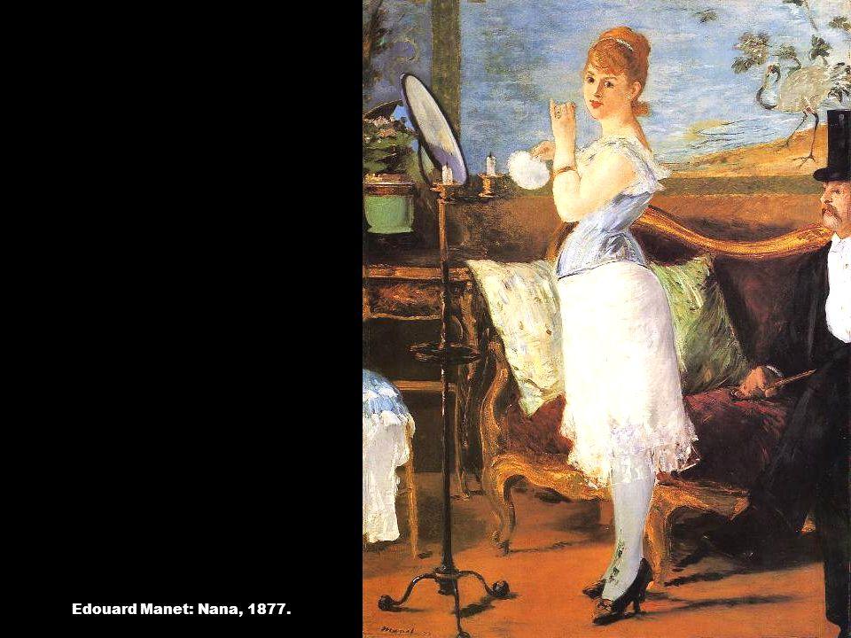 Edouard Manet: Nana, 1877.