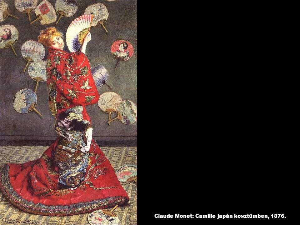 Claude Monet: Camille japán kosztümben, 1876.
