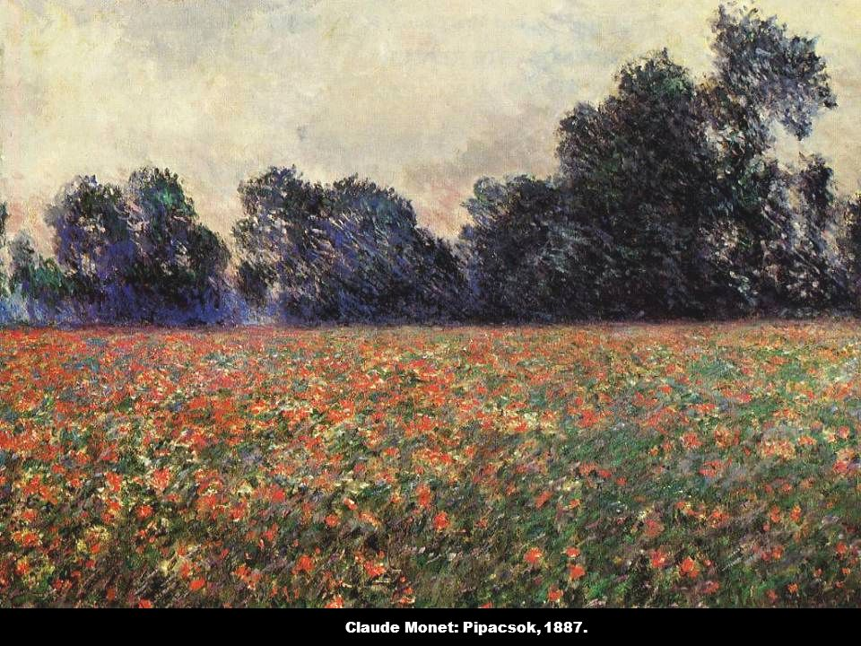 Claude Monet: Pipacsok, 1887.