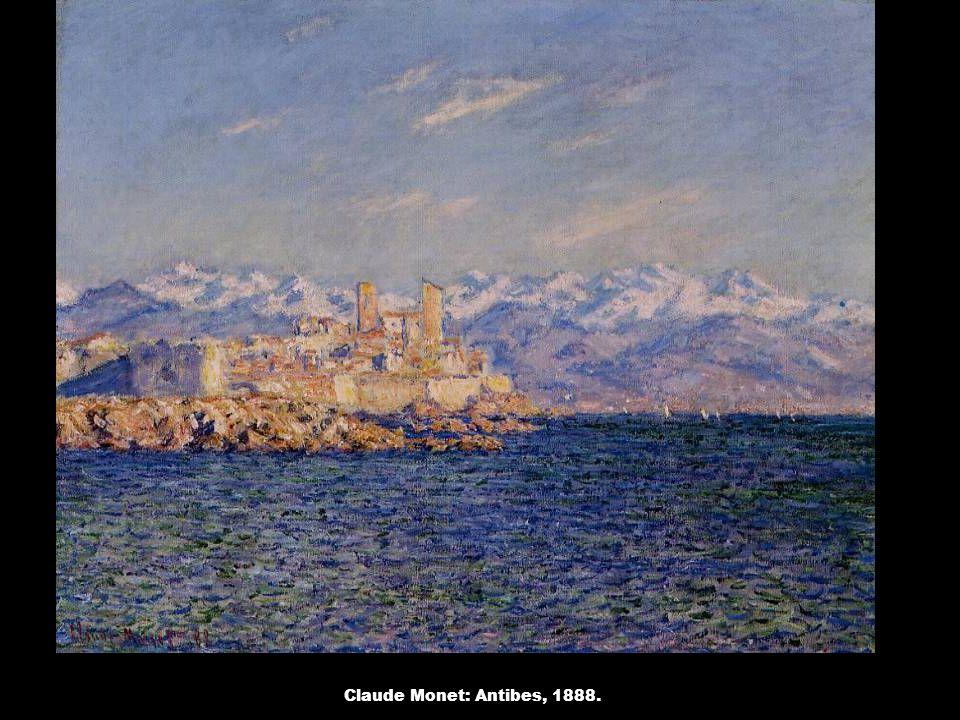 Claude Monet: Antibes, 1888.