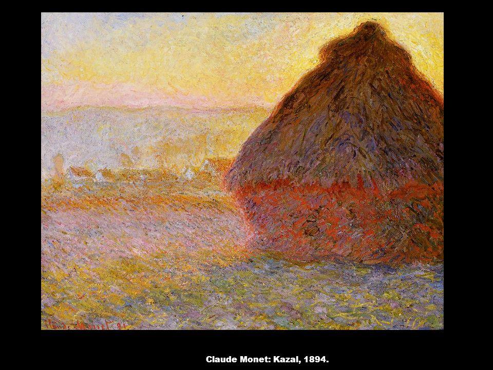 Claude Monet: Kazal, 1894.