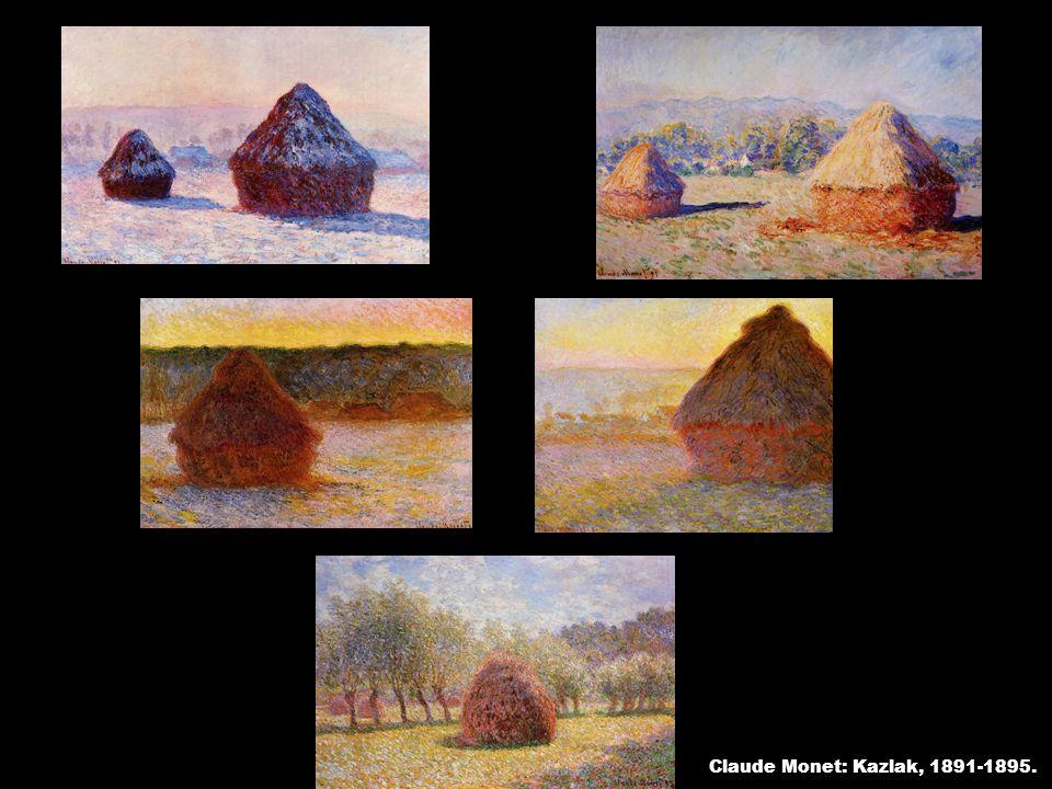 Claude Monet: Kazlak, 1891-1895.