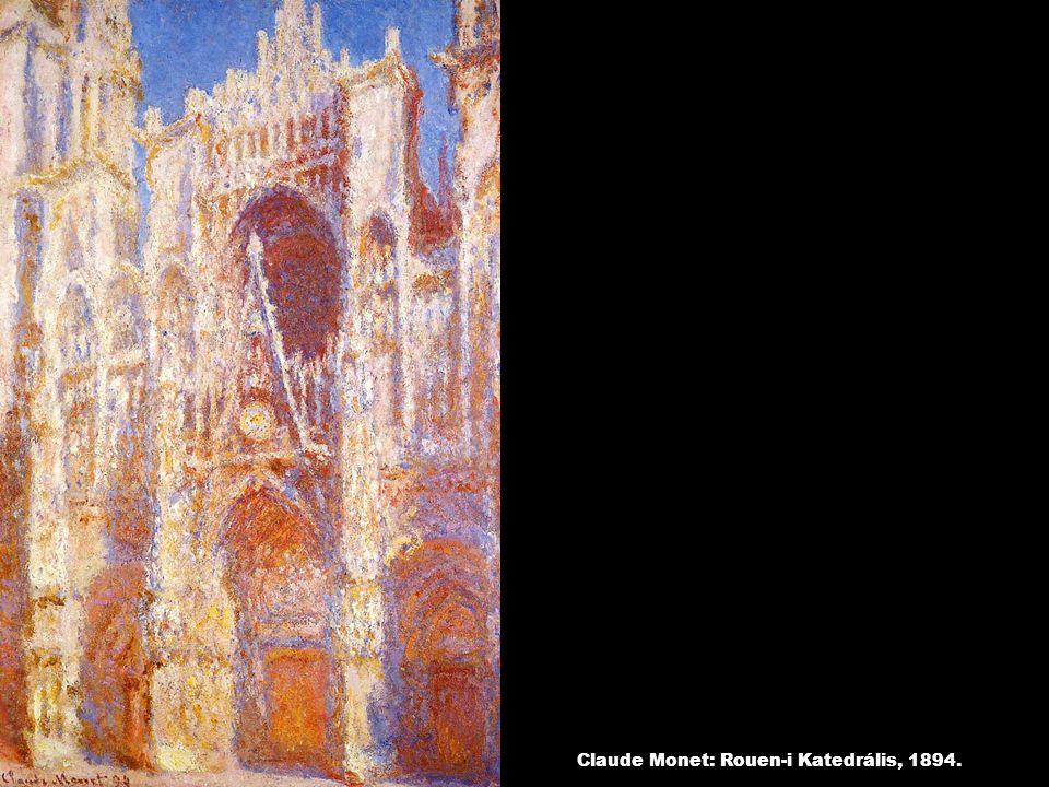 Claude Monet: Rouen-i Katedrális, 1894.