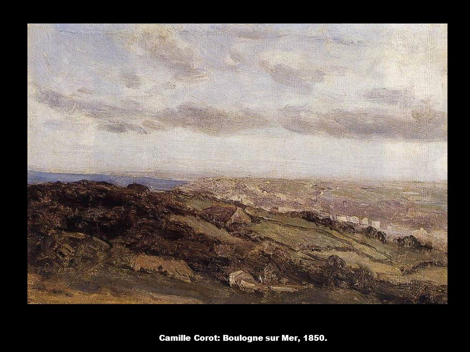 Camille Corot: Boulogne sur Mer, 1850.