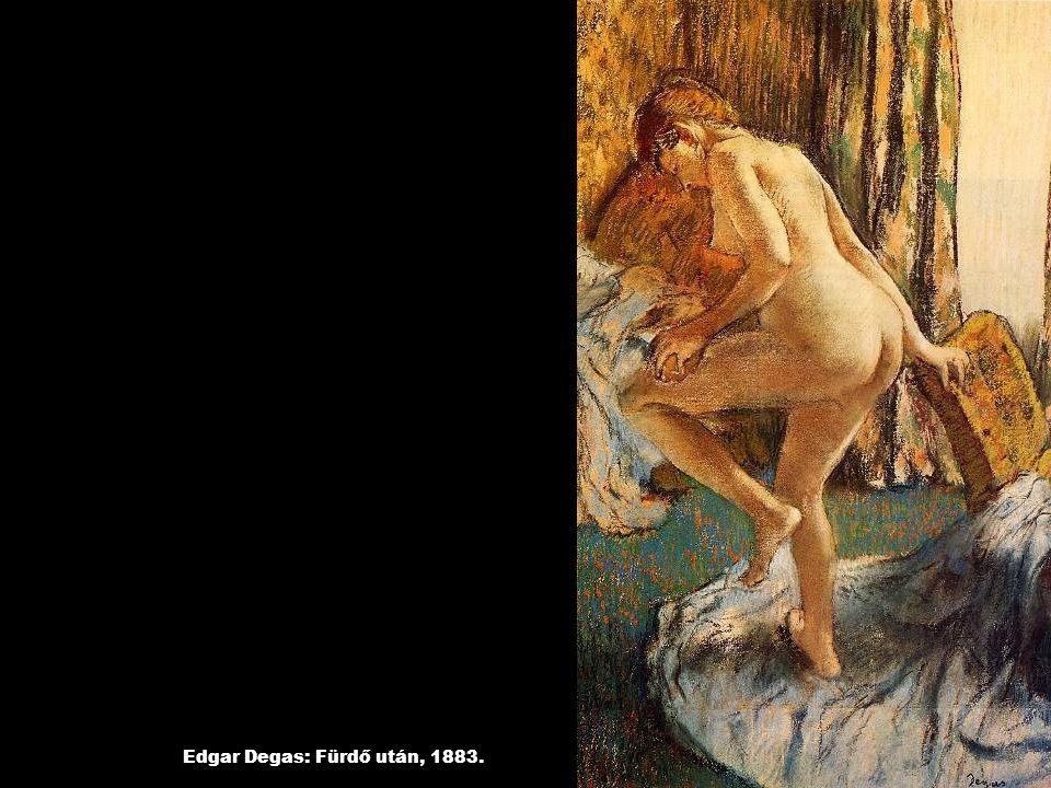 Edgar Degas: Fürdő után, 1883.