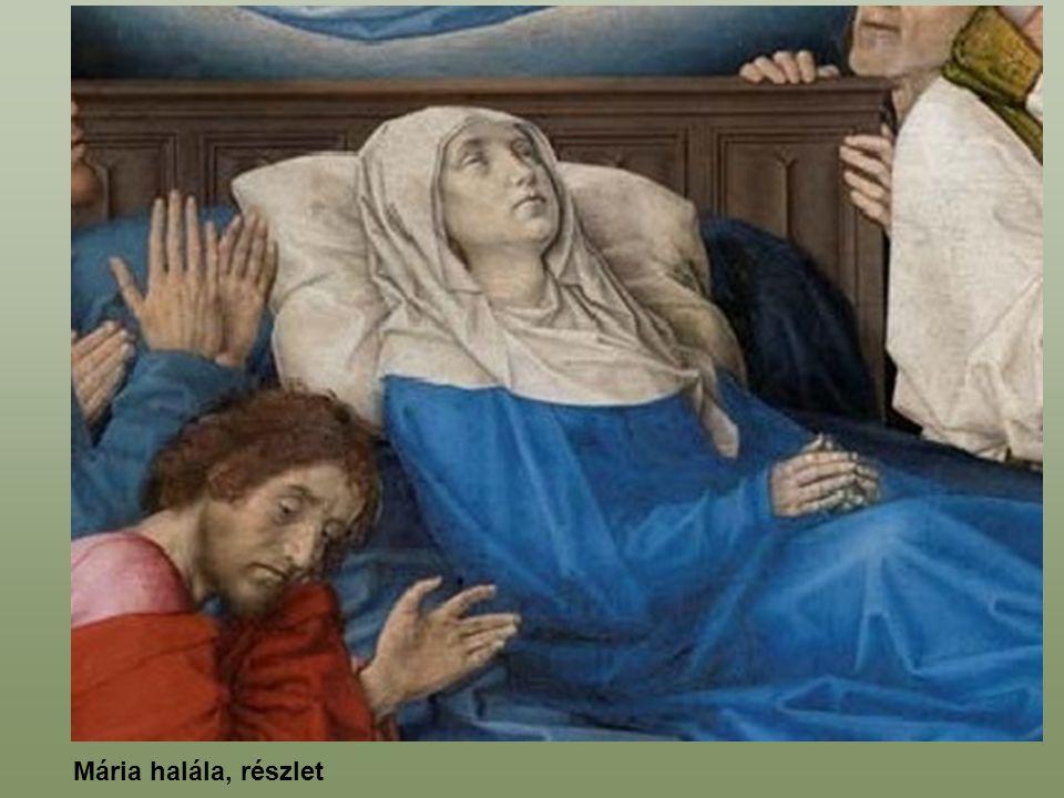 Mária halála, részlet