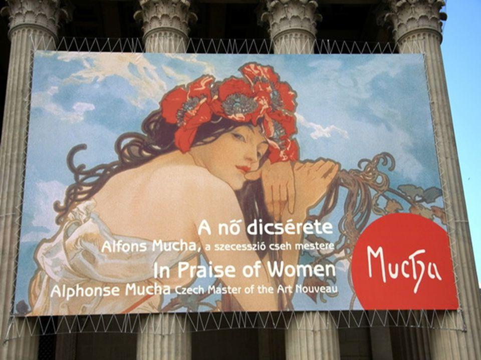 A párizsi nyomda reklámplakátja, ahol Mucha litográfiái készültek