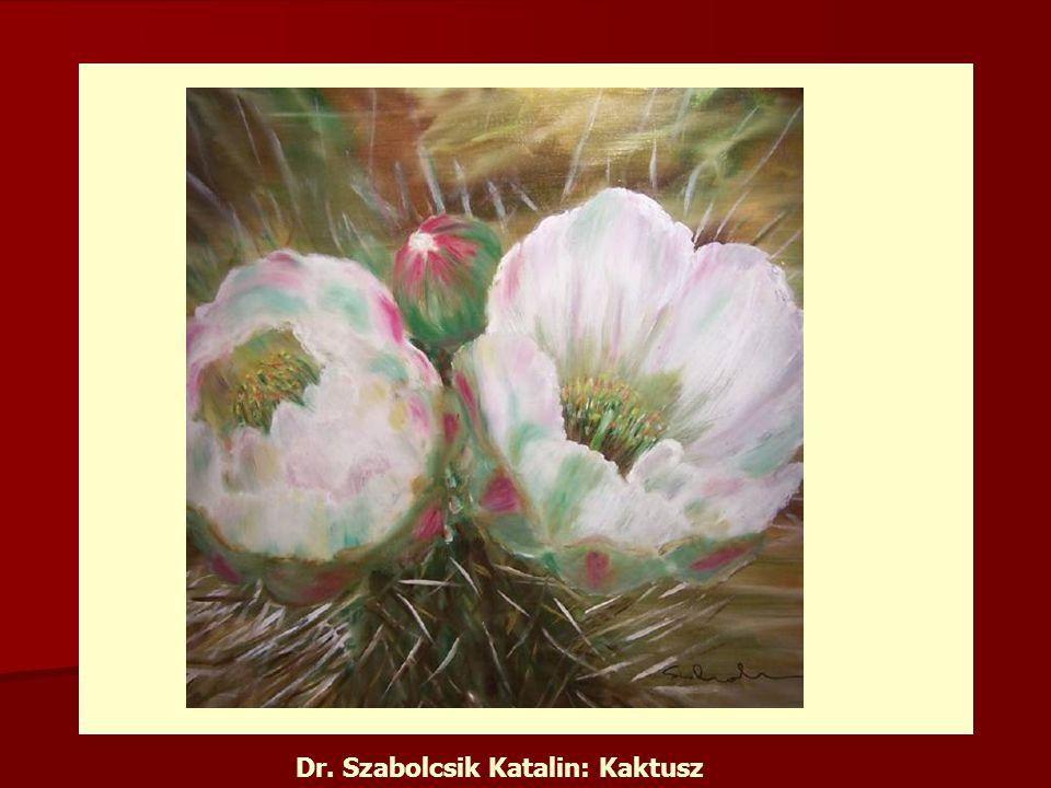 Dr. Szabolcsik Katalin: Kaktusz