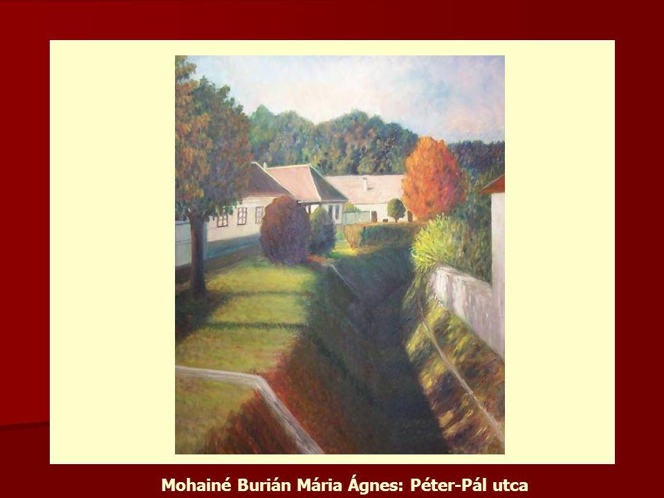 Mohainé Burián Mária Ágnes: Péter-Pál utca