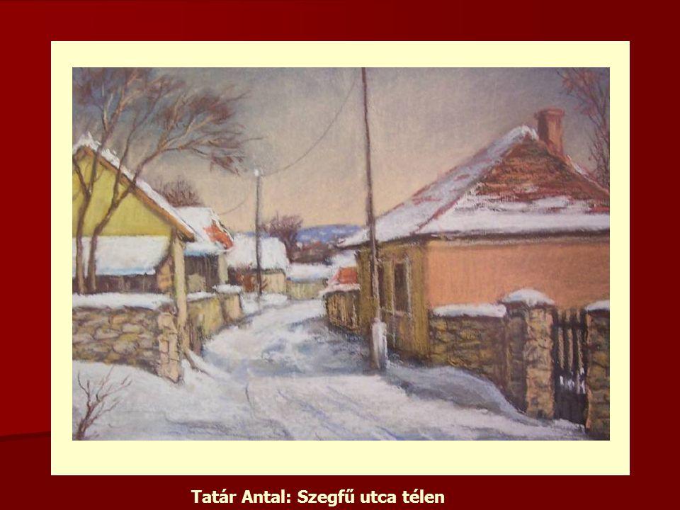 Tatár Antal: Szegfű utca télen