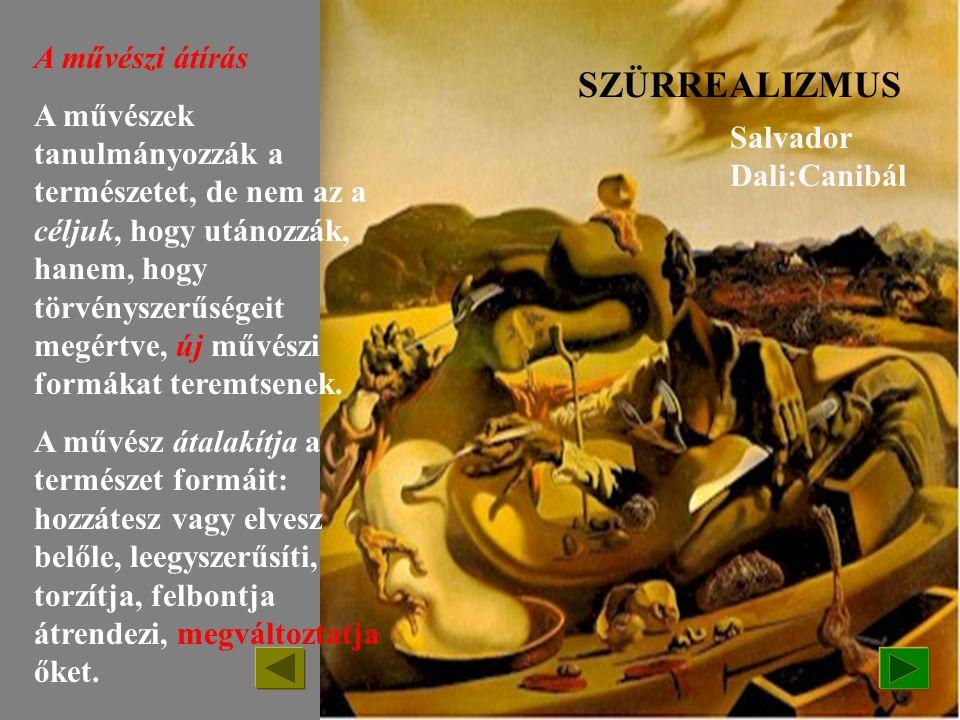 SZÜRREALIZMUS /1924-1945-ig, -de ma is jelen van/ Marc Chagall /1889-1925/:A festő