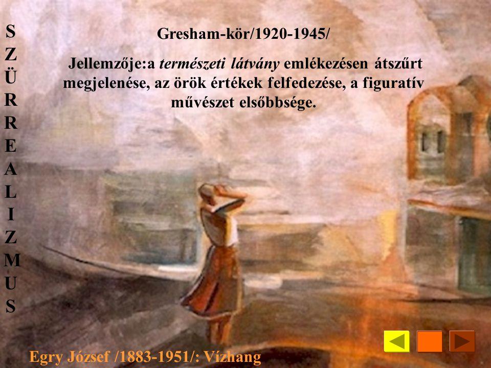Berényi Róbert /1887-1953/:Capri KÚT /Képzőművészek Új Társasága ; 1924-1949/ Törekvéseik a francia posztimpresszionista, kubista és expresszionista i
