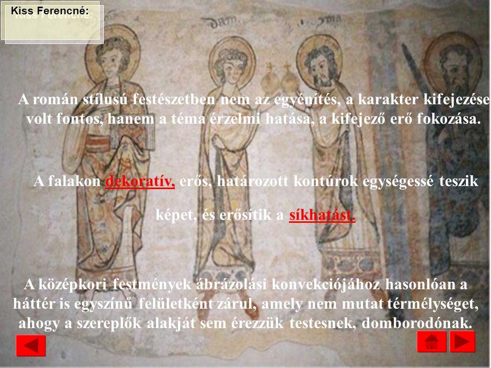 KÖZÉPKOR SÍKÁBRÁZOLÁS ROMÁN STÍLUS : Apostolok