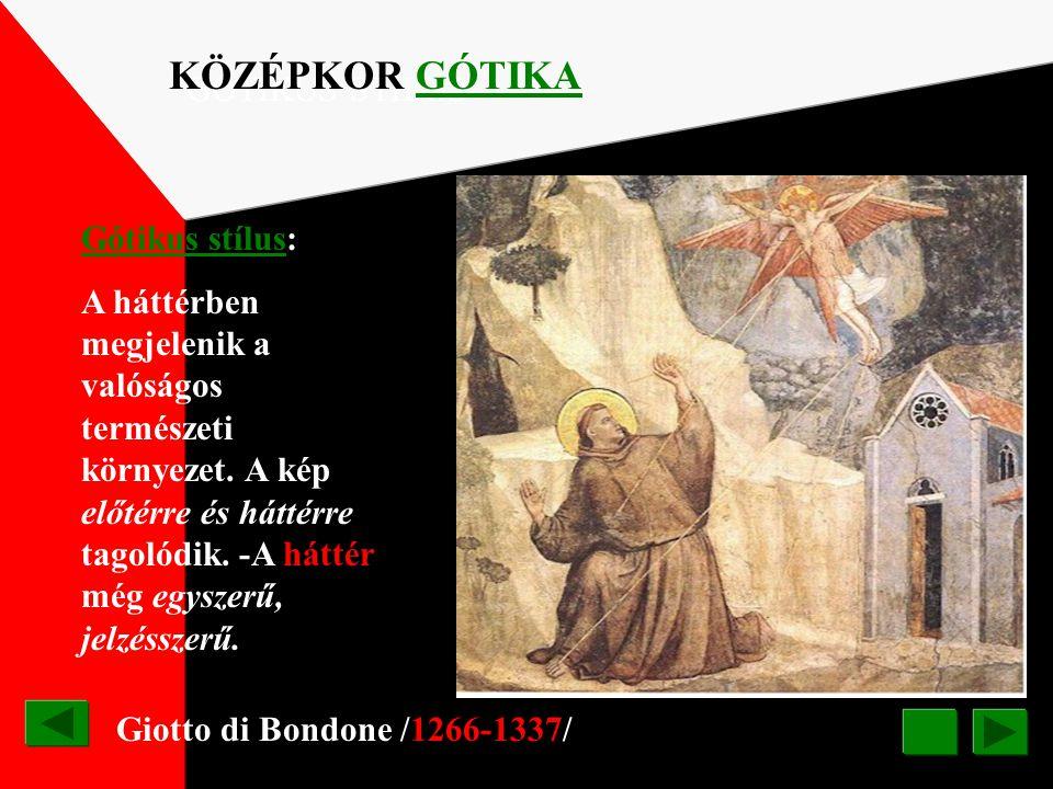 Kiss Ferencné: A középkori festmények ábrázolási konvekciójához hasonlóan a háttér is egyszínű felületként zárul, amely nem mutat térmélységet, ahogy