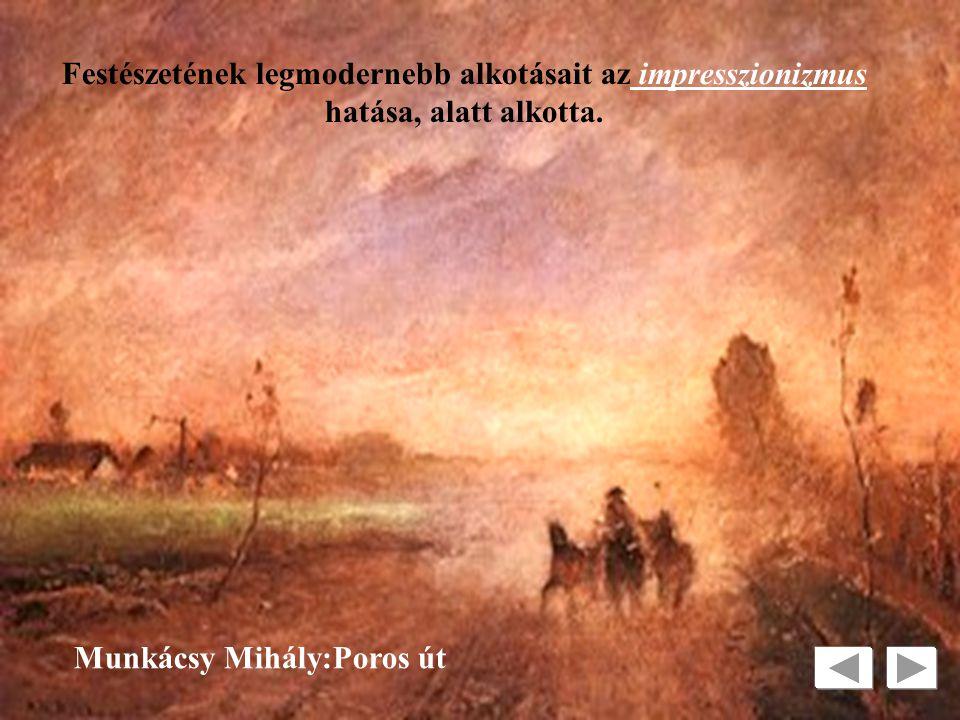 Perspektíva Munkácsy Mihály Szalon képeivel nagy népszerűségre tett szert. TÉRÁBRÁZOLÁS
