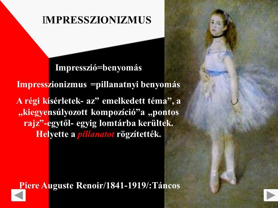 Piere Auguste Renoir/1841-1919/:Páholyban IMPRESSZIONIZMUS