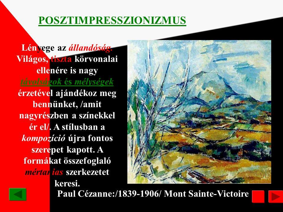 Camille Pissarro /1831-1903/ Hoarfrost IMPRESSZIONIZMUS