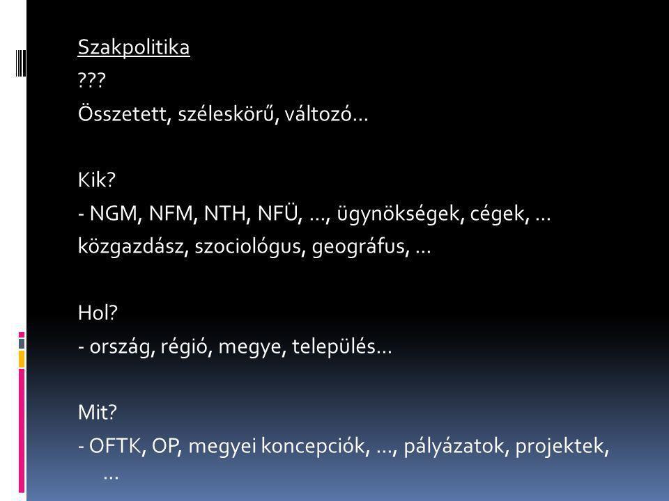 Tudomány Oktatás Szakpolitika személyek szervezetek munkák... elhelyezése