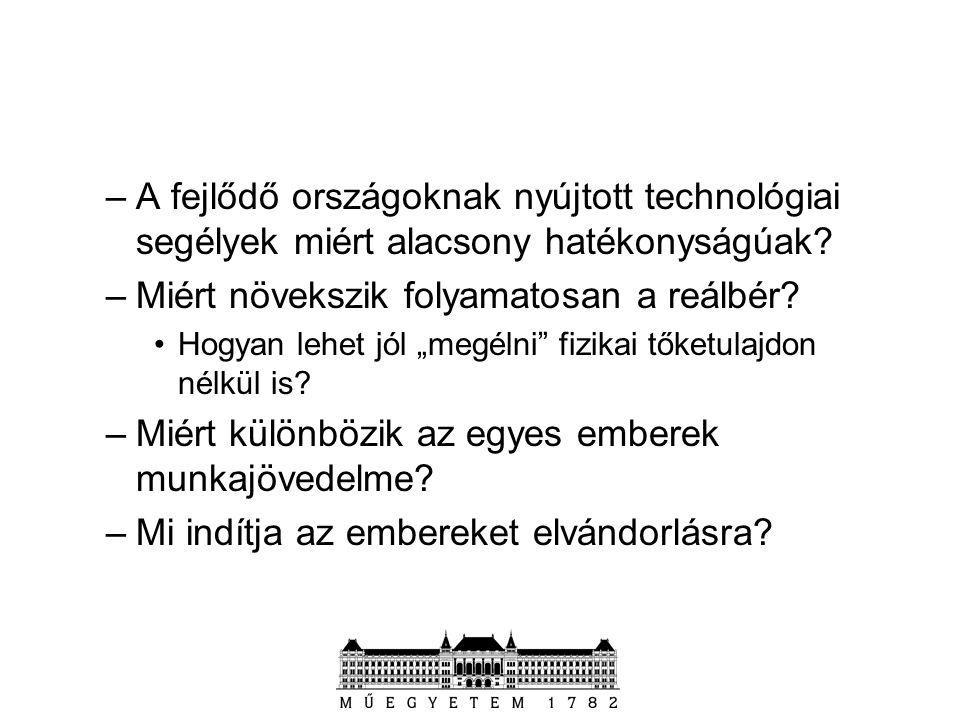Ajánlott irodalom: –Varga Júlia: Oktatás-gazdaságtan Közgazdasági Szemle Alapítvány 1998.