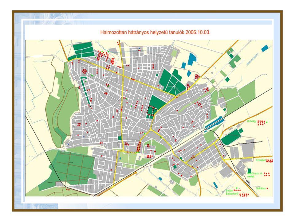 Települési szintű integráció Anti-szegregációs Terv Esélyegyenlőségi Terv Roma Tanács létrehozása Telepek felszámolása Szociális bérlakások építése Tanoda program Egészséges Vásárhely Program Közfoglalkoztatás Átfogó szociális háló kialakítása (Kapcsolat Központ) Munkahelyteremtő támogatási rendszer