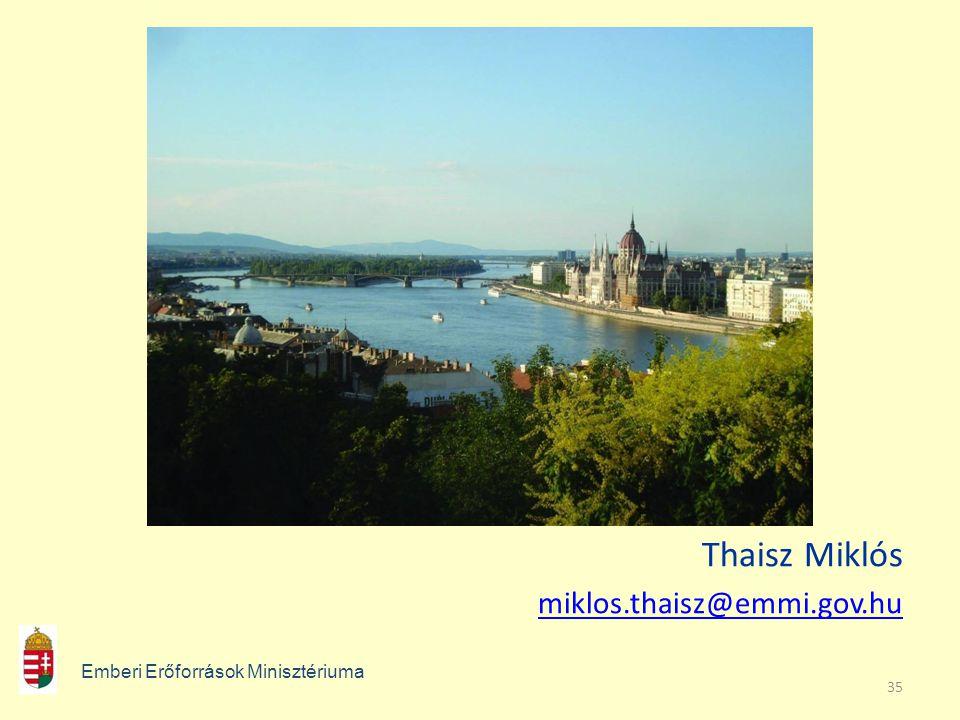 35 Thaisz Miklós miklos.thaisz@emmi.gov.hu Emberi Erőforrások Minisztériuma