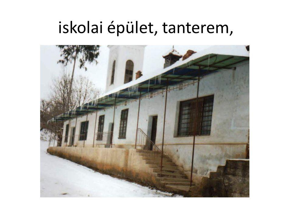 iskolai épület, tanterem,