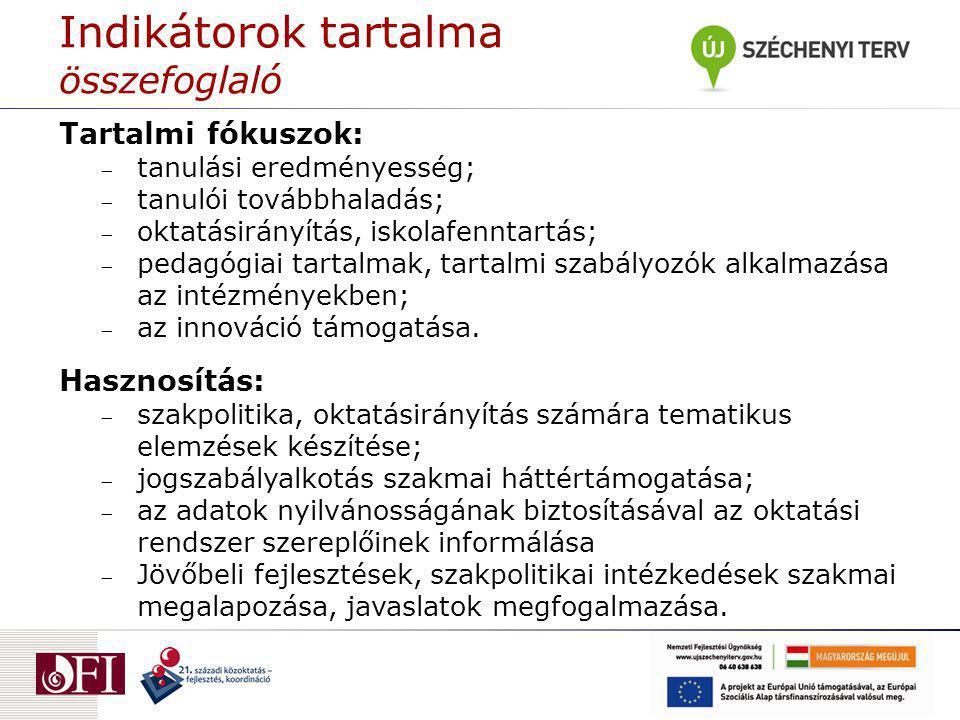 A projekt négy fókusszal végezte a kerettantervi munkák előkészületeit: a hazai és nemzetközi tartalmi szabályozás struktúrájának elemzése; a jelenleg használatos hazai kerettantervek (69 db) elemzése; a Magyarországon jelenleg érvényes kerettantervek intézményi implementációs gyakorlatának vizsgálata (200 iskola bevonásával); a 2012-ben készülő kerettantervi munkálatok előkészítése, szakiskolai kerettanterv első változatának monitorozása és a 2.
