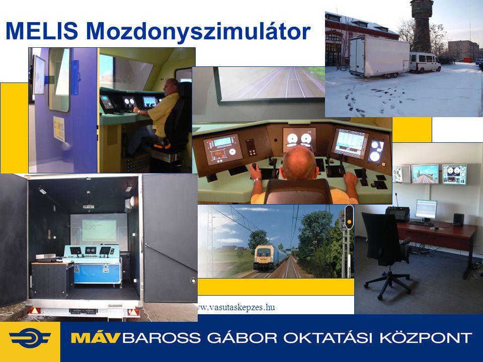 2014. 07. 09.www.vasutaskepzes.hu12 MELIS Mozdonyszimulátor