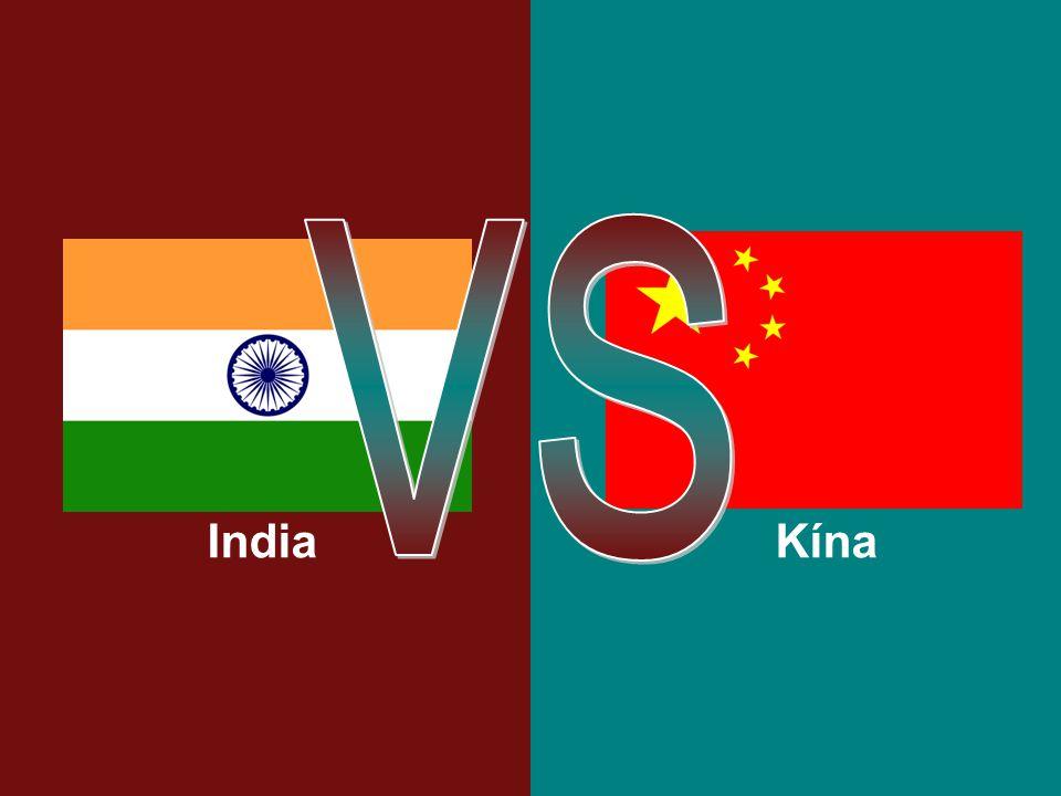KínaIndia